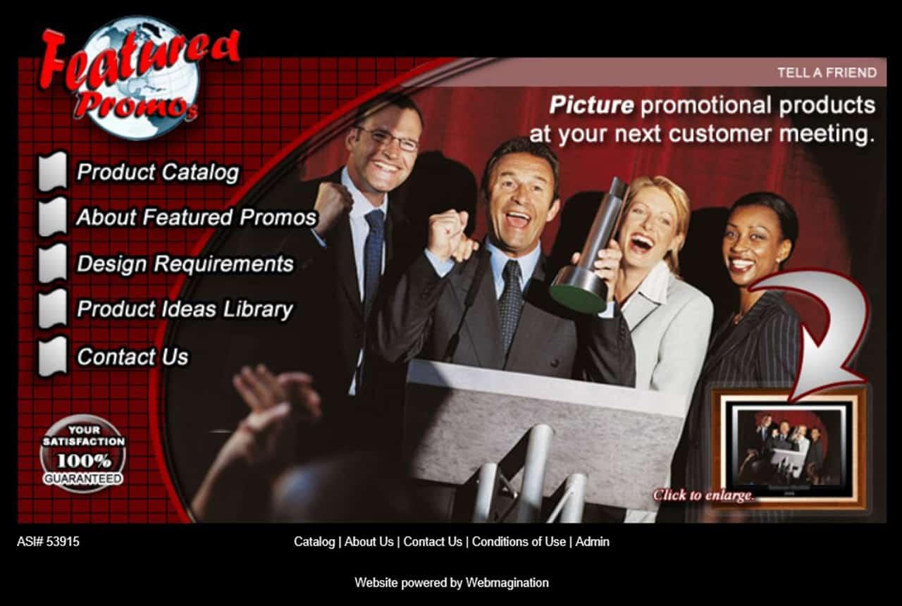 Featured Promos Website