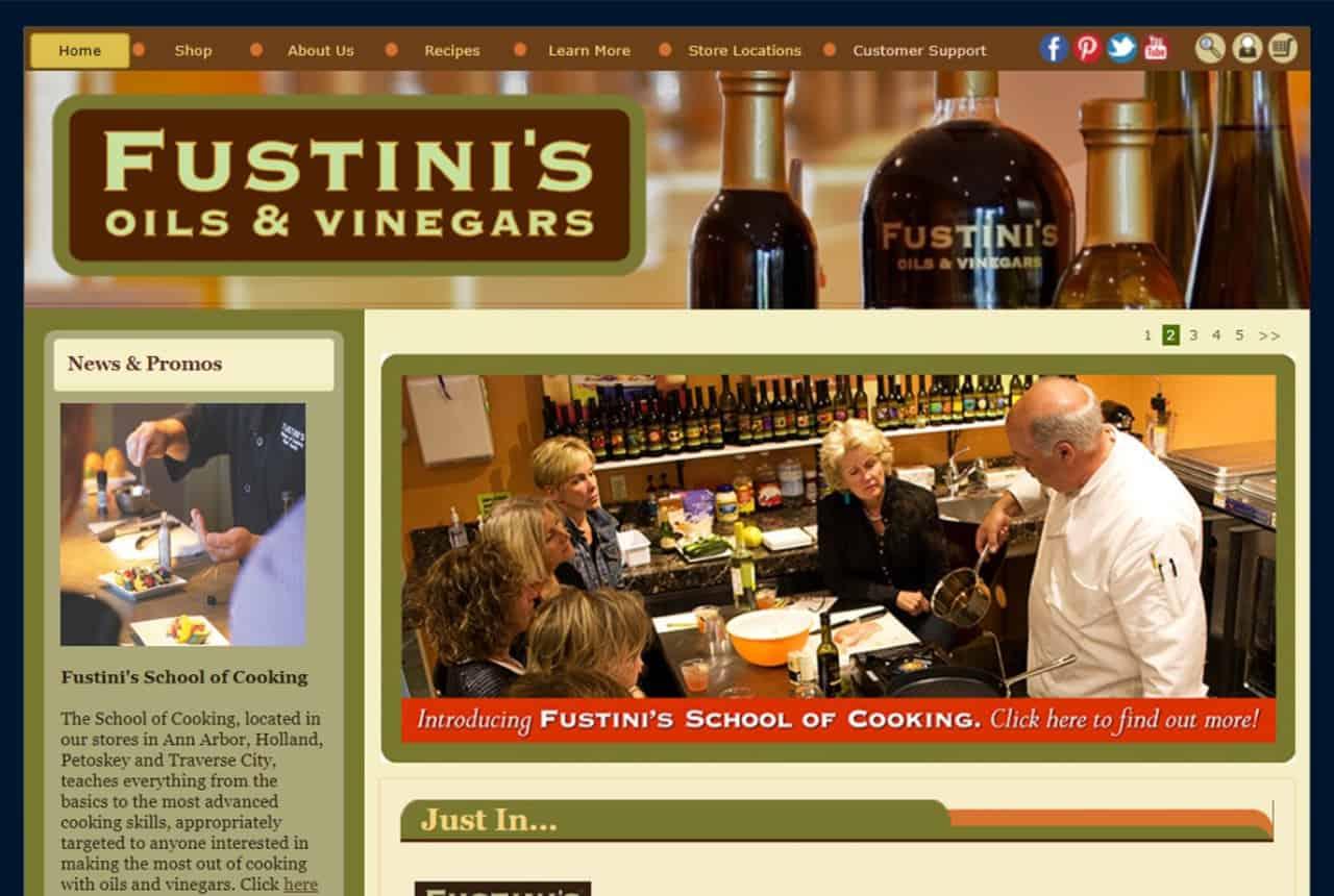 Fustini's Oils & Vinegars Website