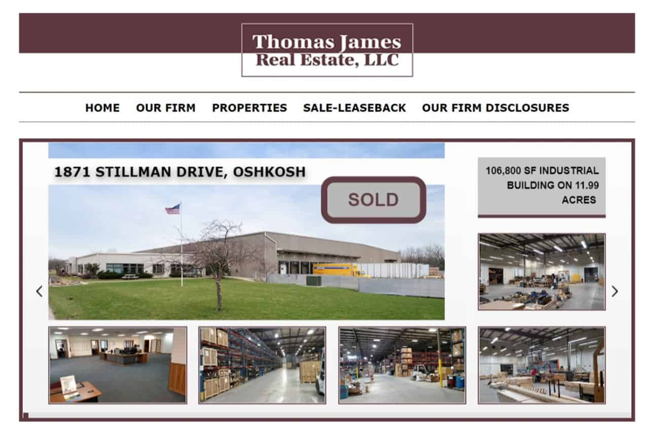 Thomas James Real Estate Website