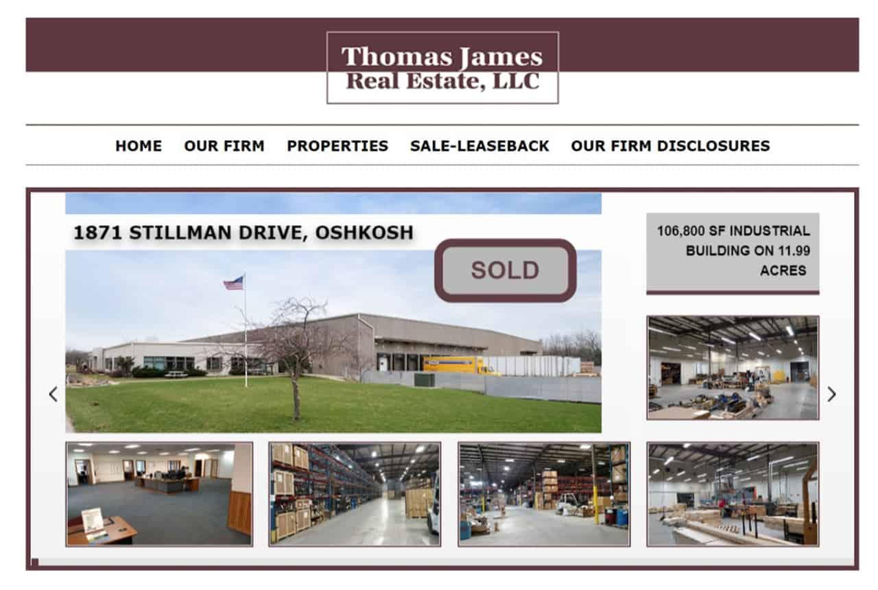 Thomas James Real Estate Website