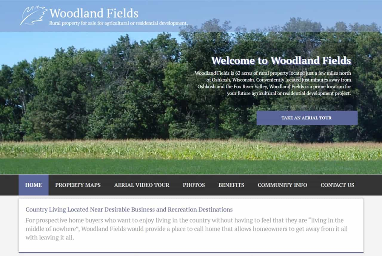 Woodland Fields Website